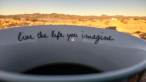 live the life you imagine mountains jypsy threads