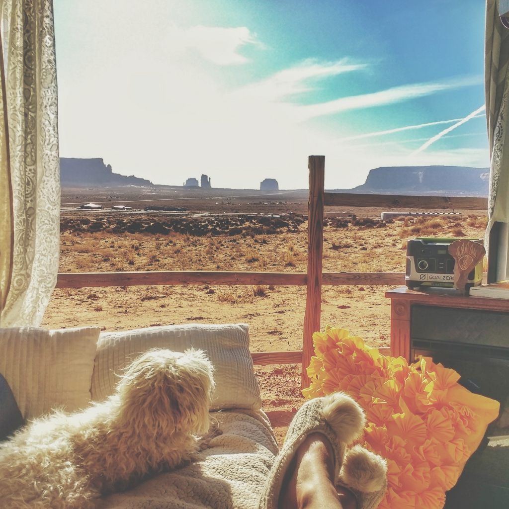 glamping at monument valley | jypsy threads blog